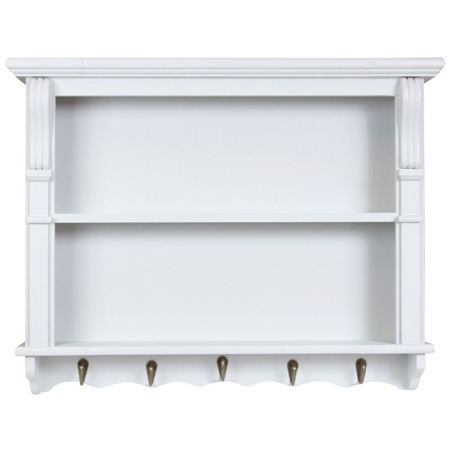 Charles Bentley Shabby Chic Vintage French Style Shelving Unit ...