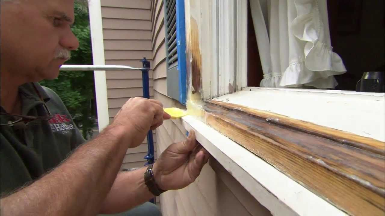 How To Fix Rotted Wood With Epoxy This Old House Old Wood