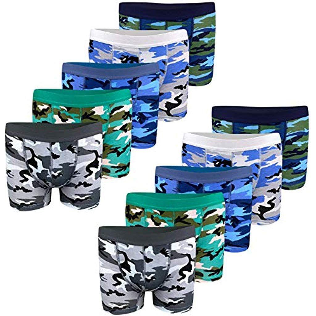 10 Jungen Slips Unterhosen Baumwolle Unterwäsche Unterhose Kinder Boxershorts