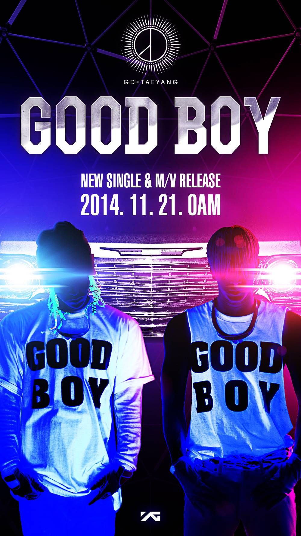 YG Entertainment unveils teaser image for 'Good Boy' by G-Dragon and Taeyang   allkpop