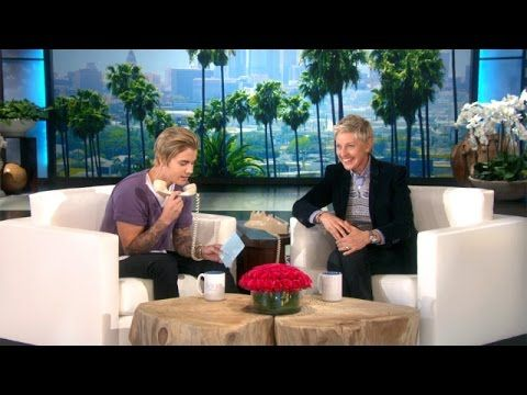 Ellen and Justin prank a fan while Jimmy and Taylor dance it off ...