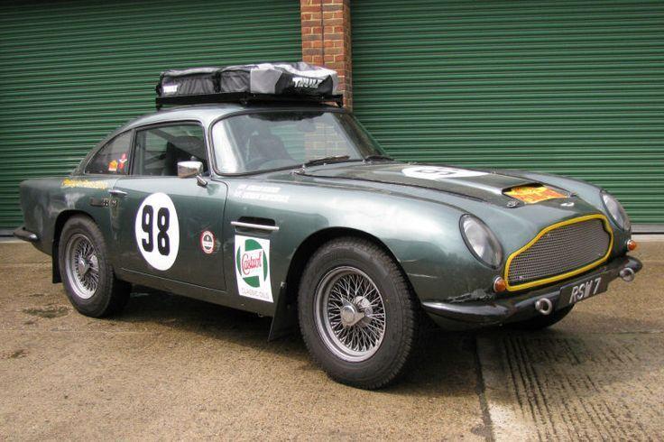 Aston Martin - The art of good living. More at bramble.co
