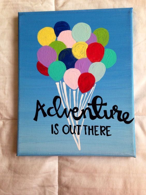 26 Meaningful Canvas Painting Ideas With Quotes To Canvas Decorate Disney Painting Disney Painting Canvas Painting Diy Diy Canvas Art Cute Canvas Paintings