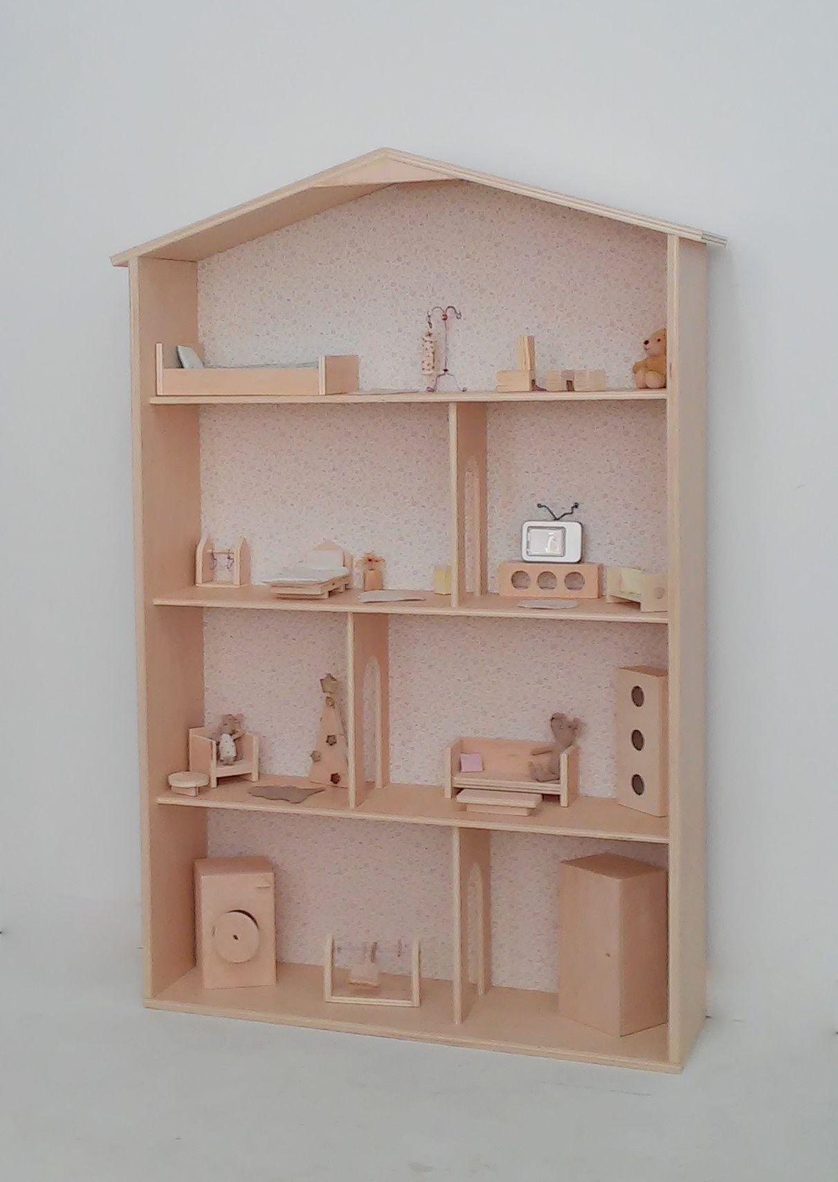 Handmade Wooden Dollhouse For Maileg Mice And Rabbit Find Out