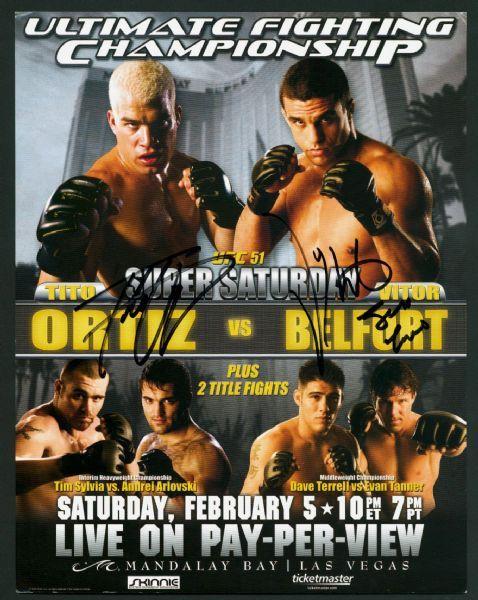UFC 51 Mini-Poster Tito Ortiz ...