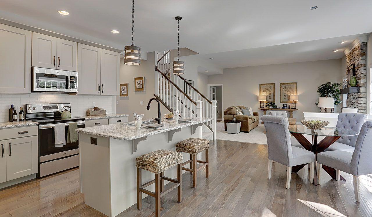 The Brookfield Kitchen White Kitchen Open Concept Kitchen Design Small White Kitchen Design