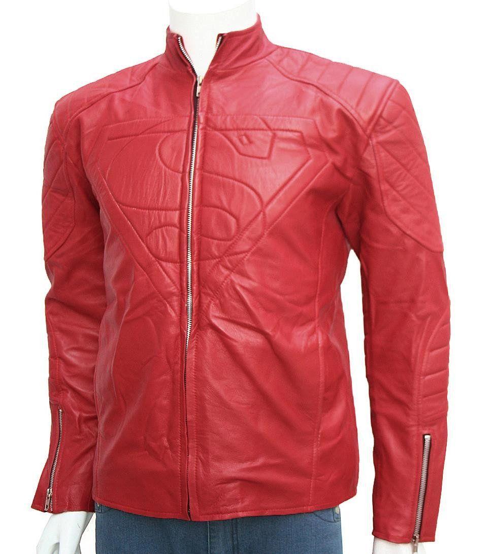Smallville Superman Jacket Leather jacket shopping