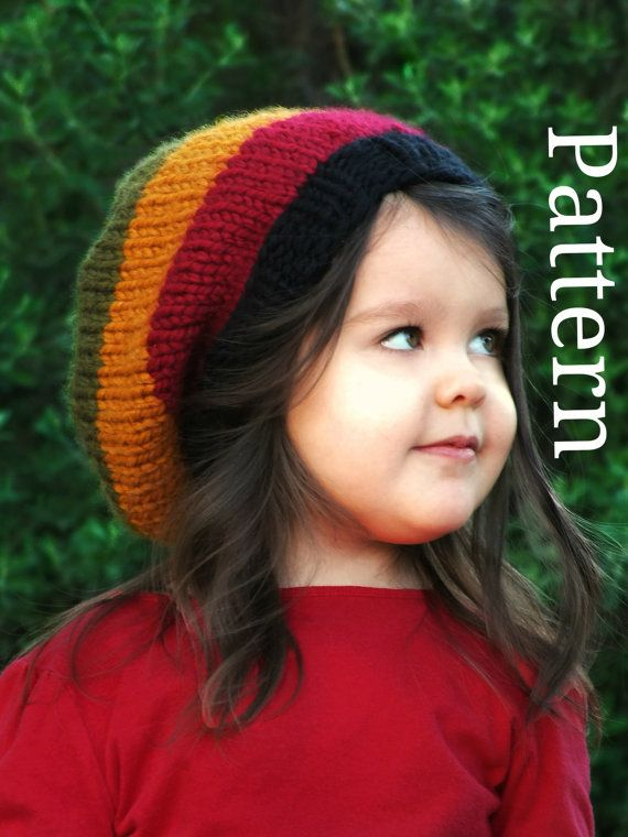 KNITTING PATTERN Baby Rasta Hat Knit Patterns Pdf by CreatiKnit ...