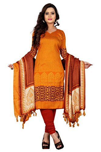 Colors:- Orange || Fabric:- American Crepe || Collection:- All Season || Fit:- Un-Stitched Free Size (Alterable Till Free Un-Stitched)