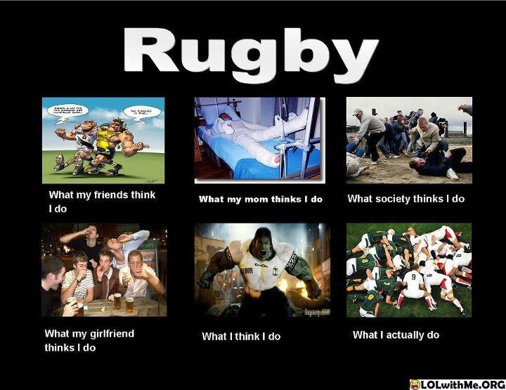 Pin By Gigi Picazio On What They Think I Do Rugby Funny Rugby Memes Rugby