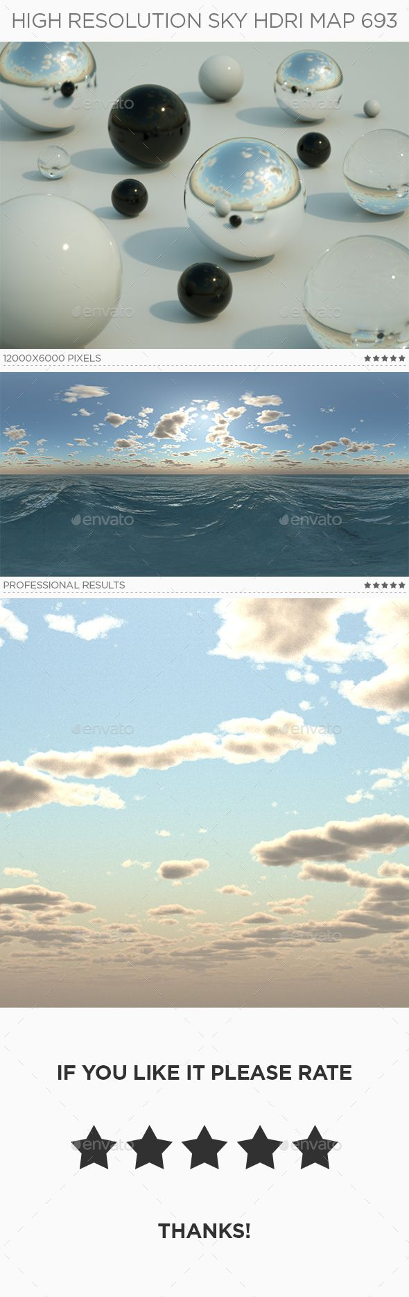 High Resolution Sky Hdri Map 693 In 2020 Hdri Images High Resolution Sky