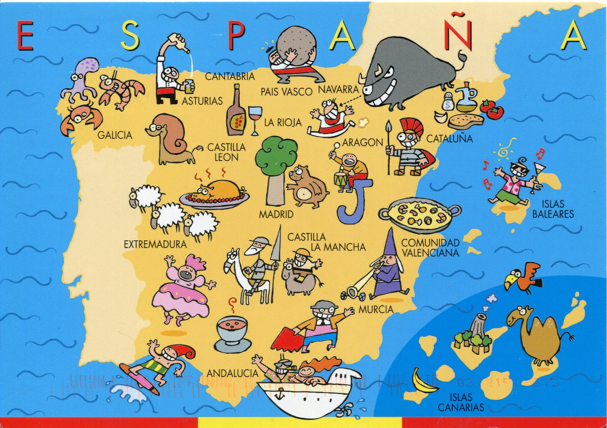 turismo espanha mapa Spain: One Of The World's Top Tourist Destinations | Pinterest  turismo espanha mapa