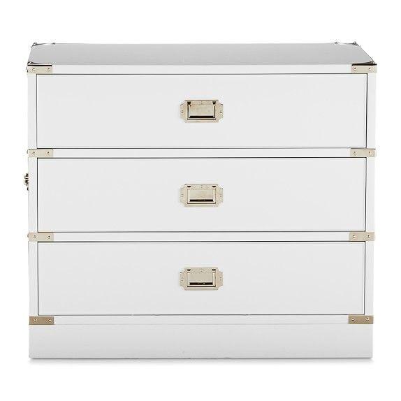 Campaign Side Table Williams Sonoma Furniture Campaign Furniture Campaign Dresser