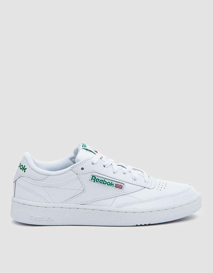Club C 85 Sneaker in WhiteGreen | Vestiti
