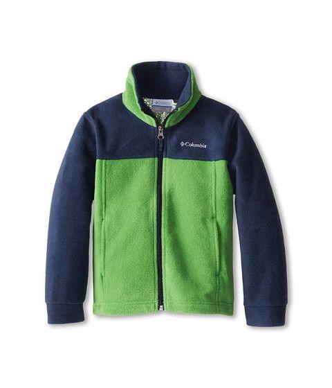 WB6776-359 Sporting Goods Columbia Sportswear Boys Dotswarm Full Zip Jacket Columbia
