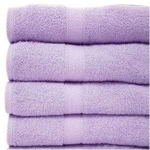 Lavender Bath Towels Lilac Bathroom