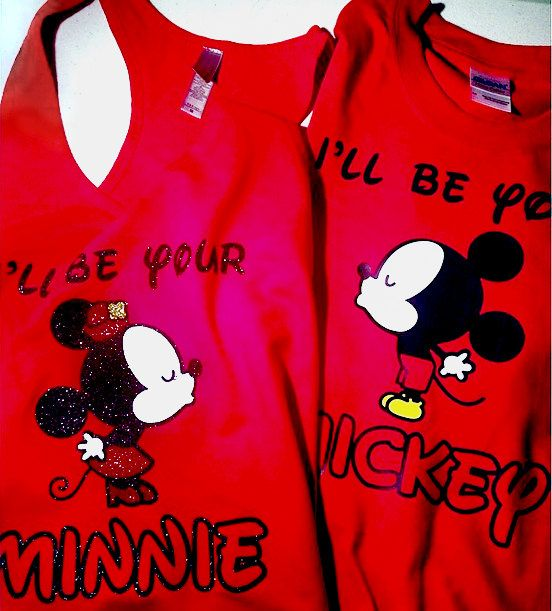 I'll Be Your Mickey / Minnie Disney Couple by ShineDesignsTees