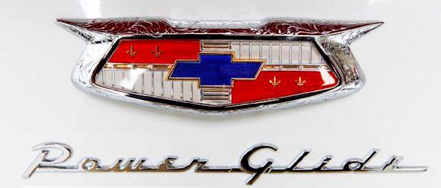 1954 Chevrolet Bel Air Power Glide Badge Chevrolet Bel Air Car
