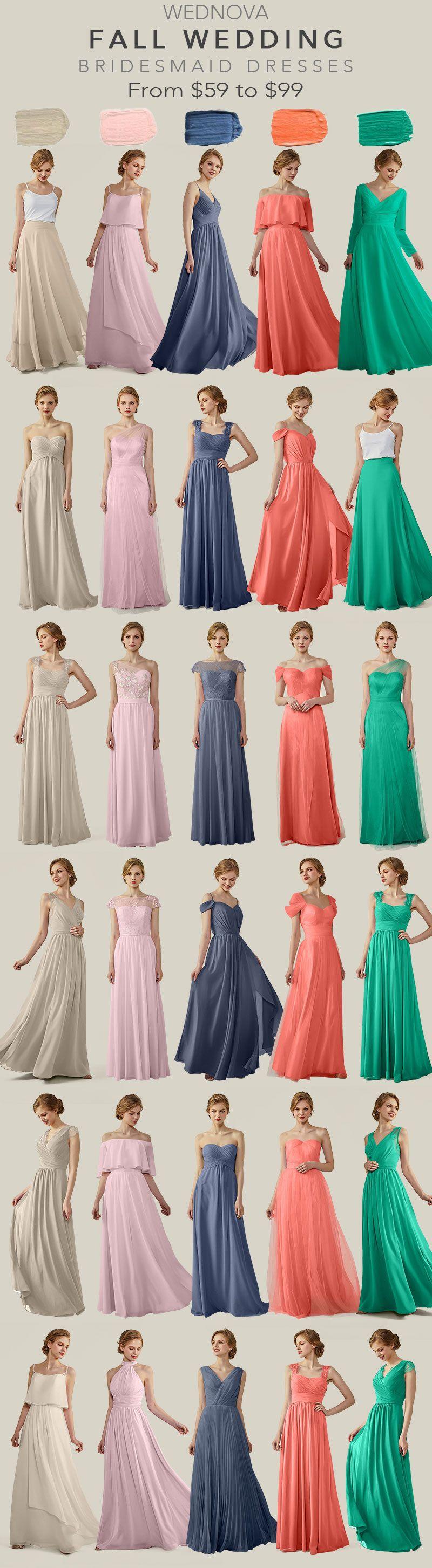 Fall chiffon bridesmaid dress v neck green dress with long sleeves a