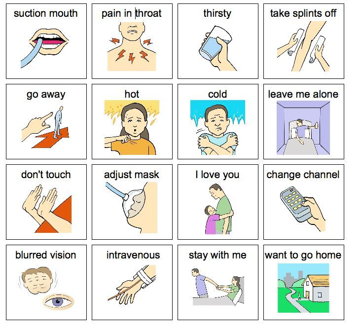 Selective image within free printable resources for autism