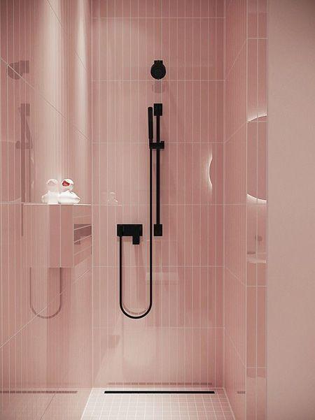 Photo of Wenn Sie ein rosafarbenes Badezimmer haben und nicht auf die Kosten des …  #badezimmer #hab…