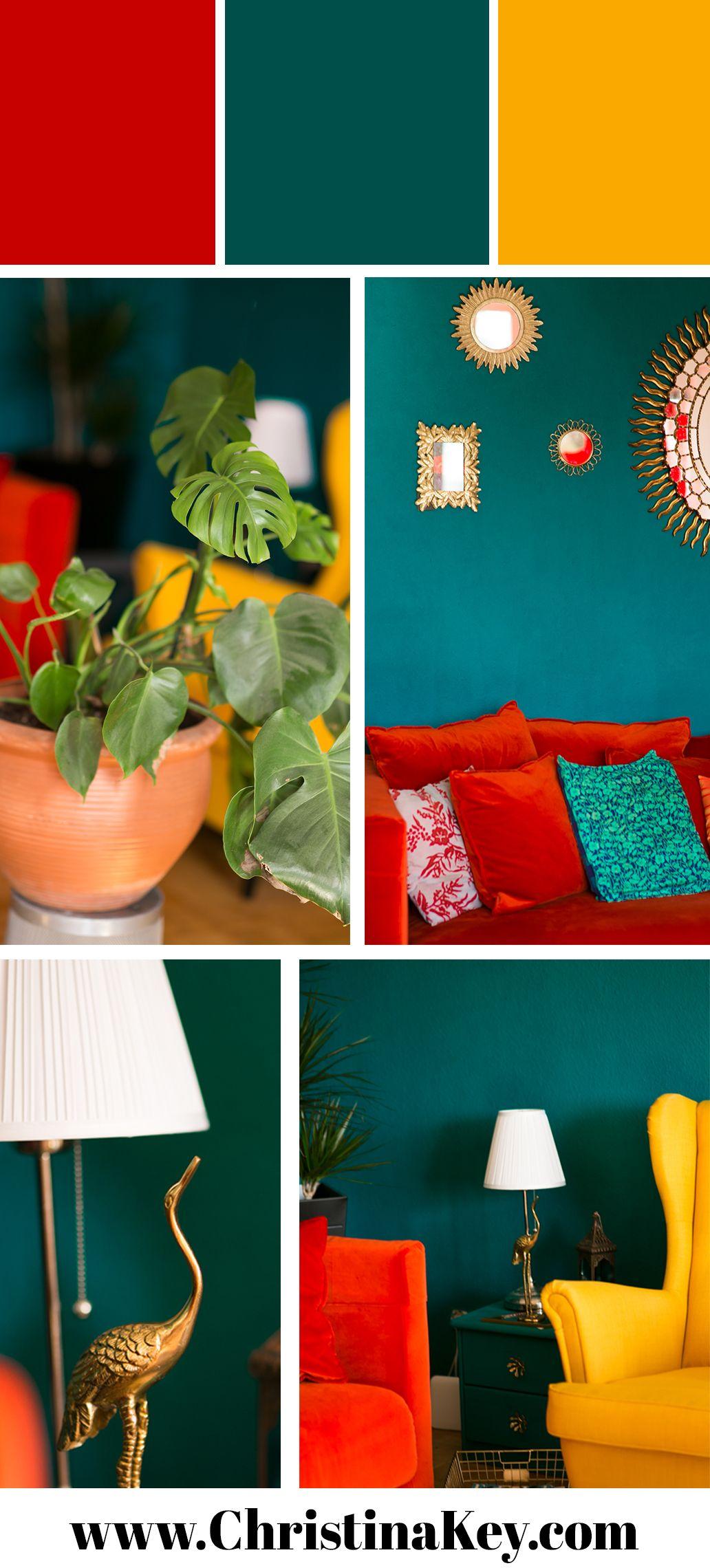 Update Wohnzimmer - farbenfrohe Einrichtung #selbstgemachtezimmerdeko