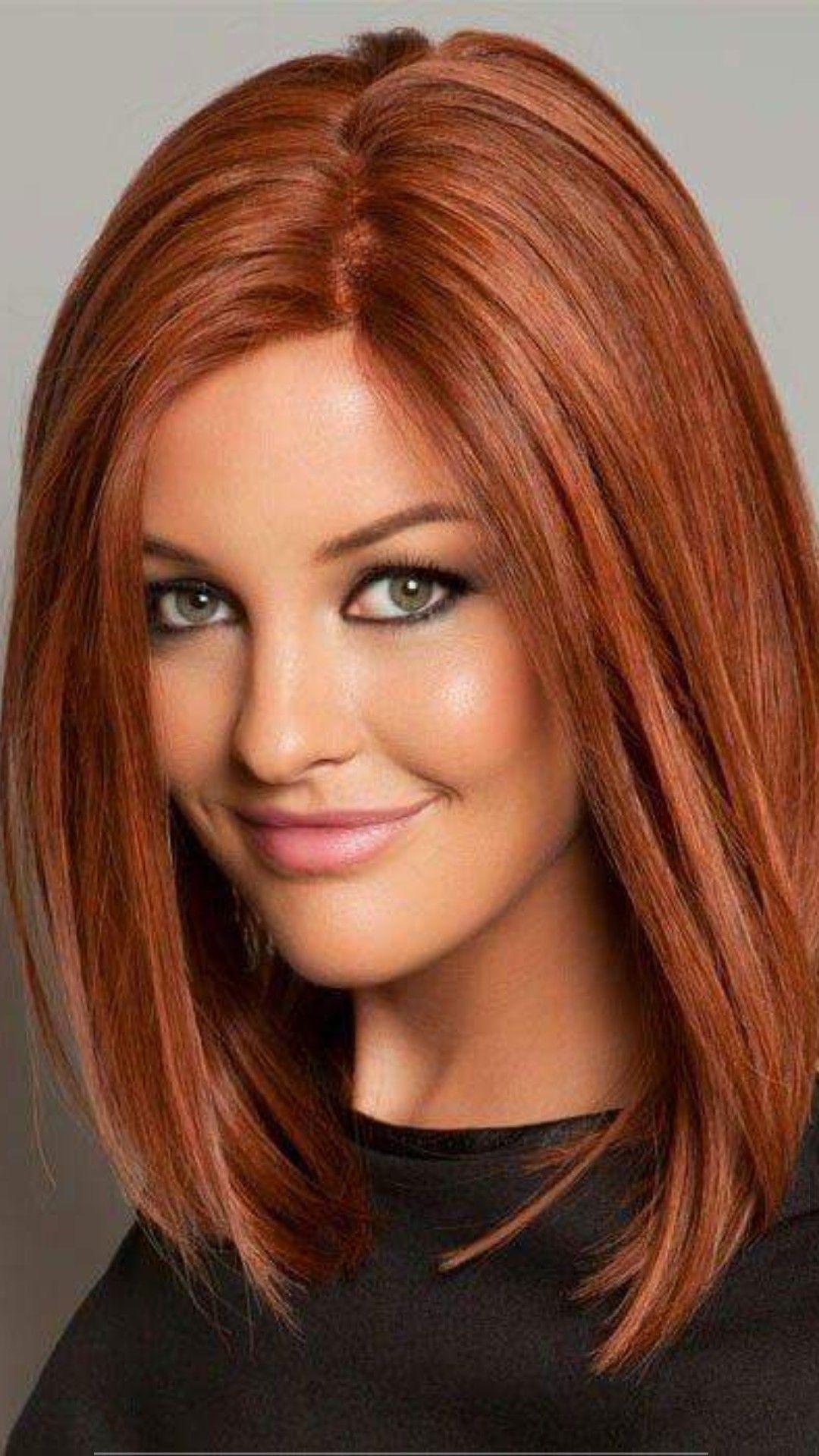 Pin Von Alla Valentov Auf Strizhki Frisuren Lange Haare Rot Frisur Rote Haare Schulterlange Haare Braun