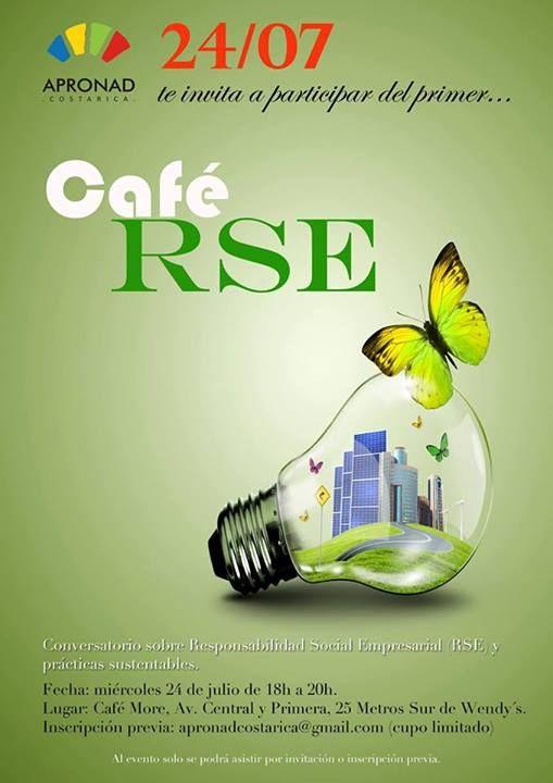 Hoy miércoles, venga y converse sobre la responsabilidad empresarial. #costarica