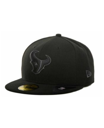innovative design c804a a0b24 New Era Houston Texans Black Gray 59FIFTY Hat - Black 7 1 8