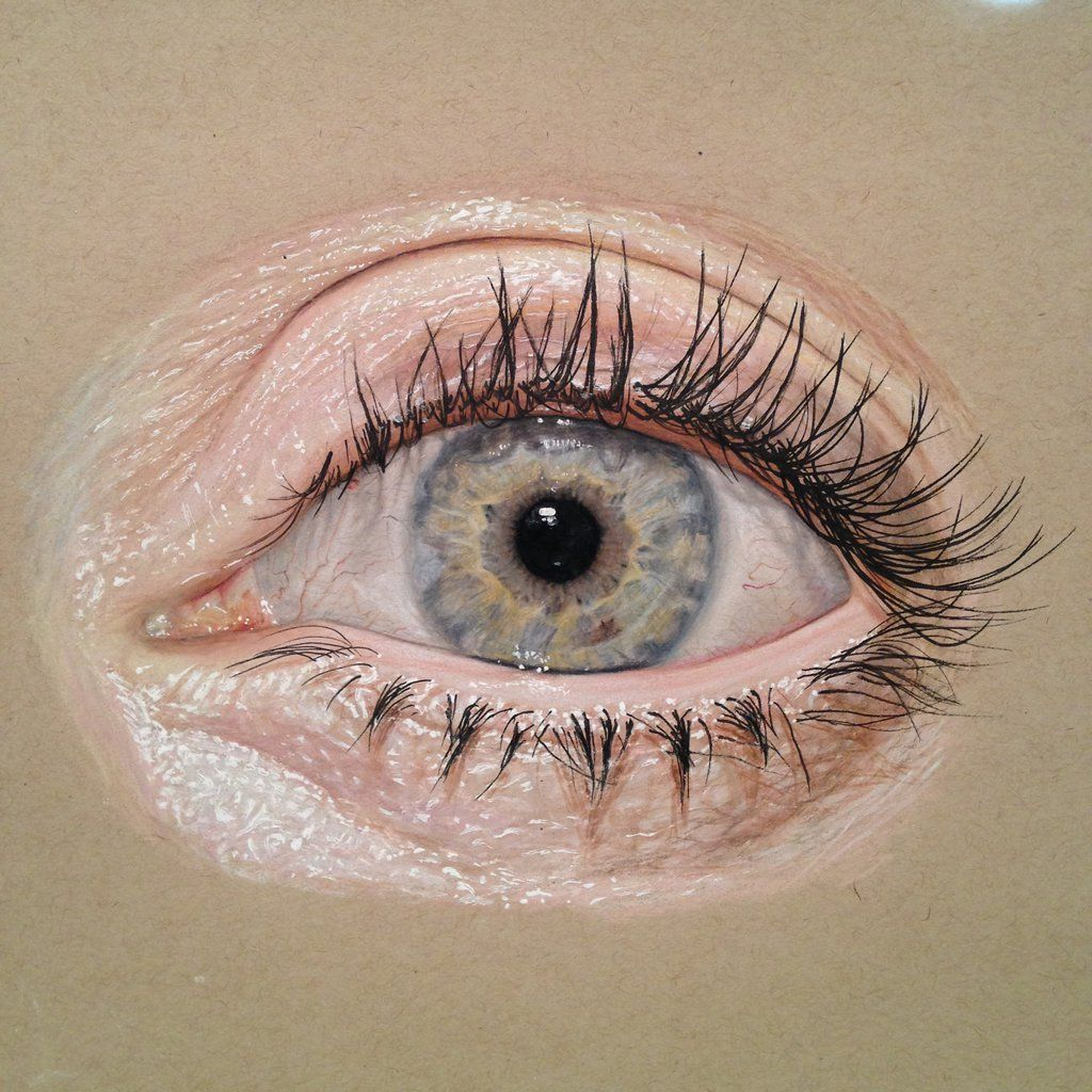 Realistic Eye Drawing By Redosking On Deviantart