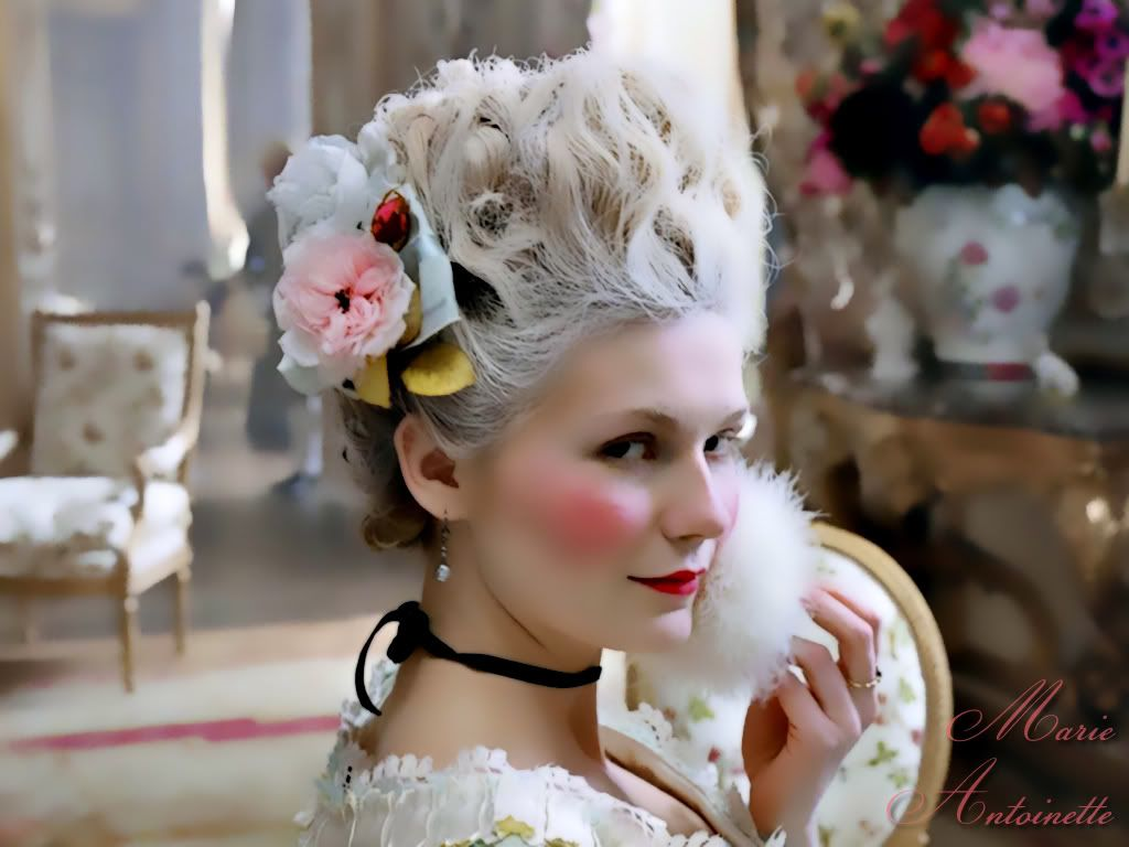 "marie antoinette"" makeup tutorial- halloween 2011 
