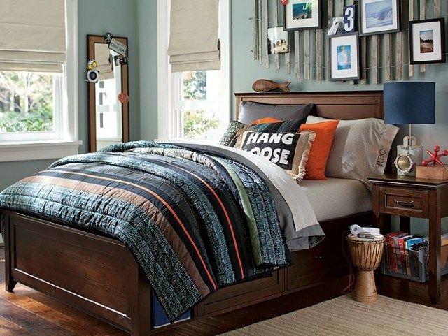 wohnideen f r jugendzimmer bett mit bettkasten aus amerikanischem holz matzo pinterest. Black Bedroom Furniture Sets. Home Design Ideas