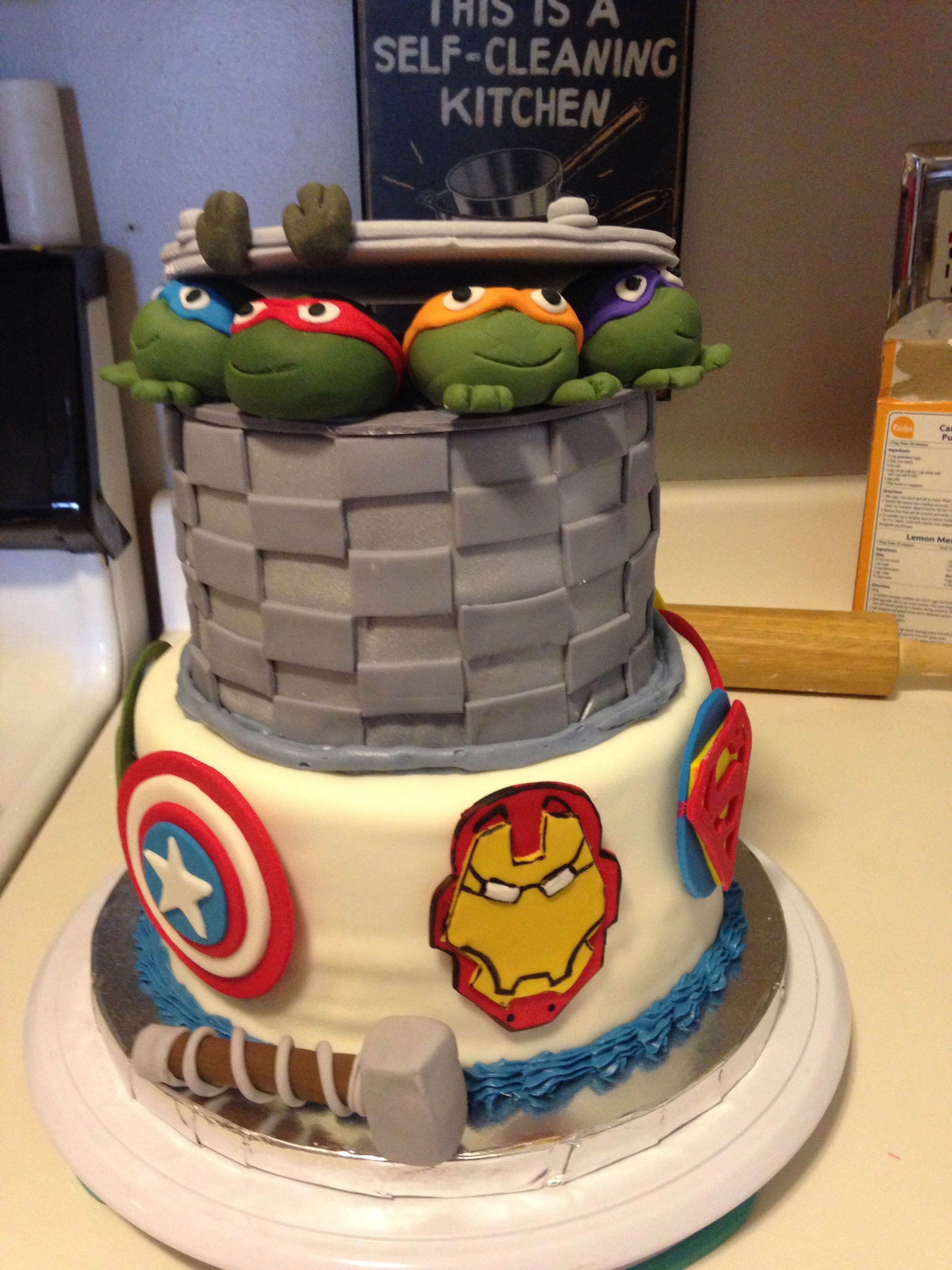 Avengers/ turtles