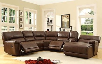 Oversized ultra comfy leather double (2) recliner reclining sofa ...