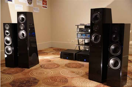 """"""" The new $999 SVS Prime Tower Speakers had me quite impressed in an A/B comparison with the company's own widely acclaimed $1,999 Ultra Tower Speakers""""-Gaelen Andrews of Canada Hi-Fi"""