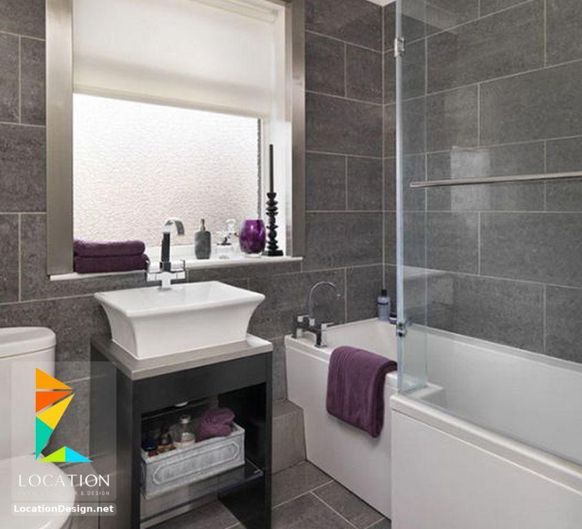ديكورات حمامات صغيرة المساحة 50 تصميم حمامات مودرن