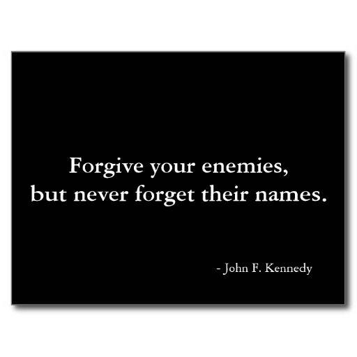 Forgiveness quote - postcard