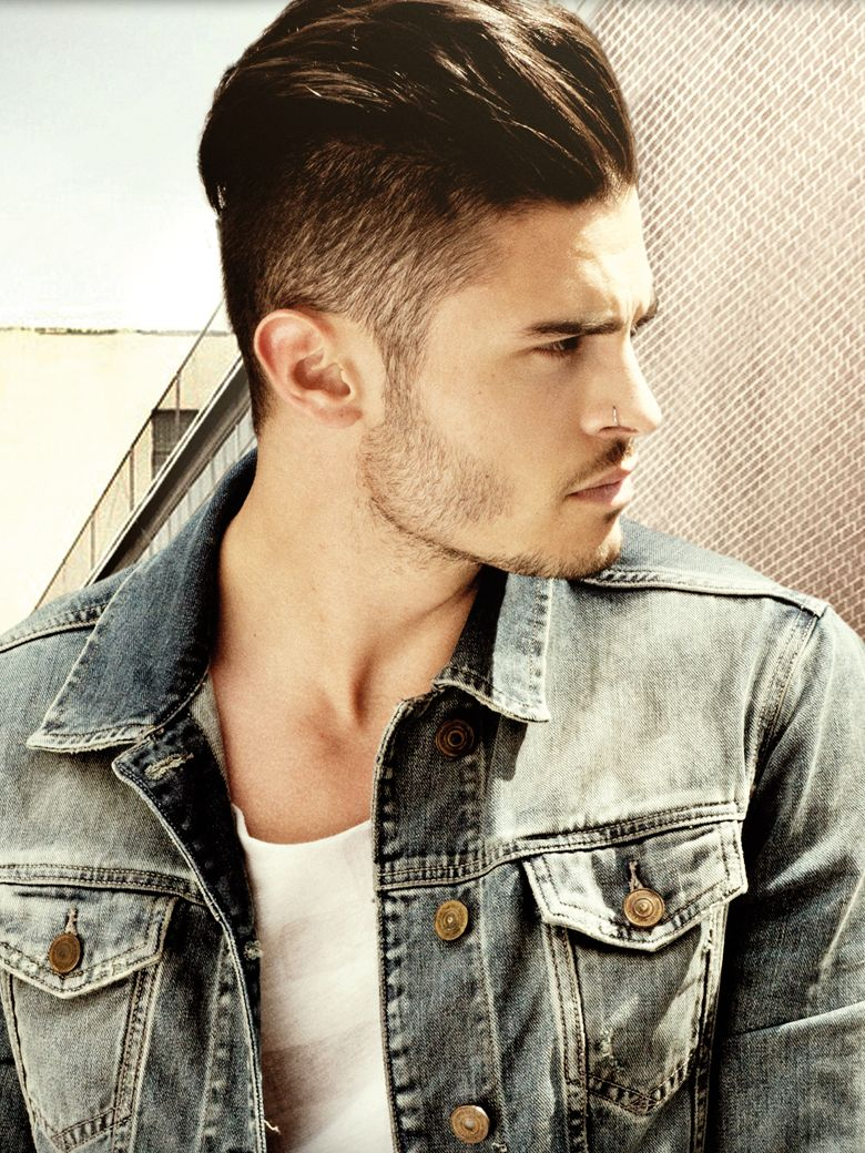Clean men's haircut luinterview mode et musique de baptiste giabiconi  style