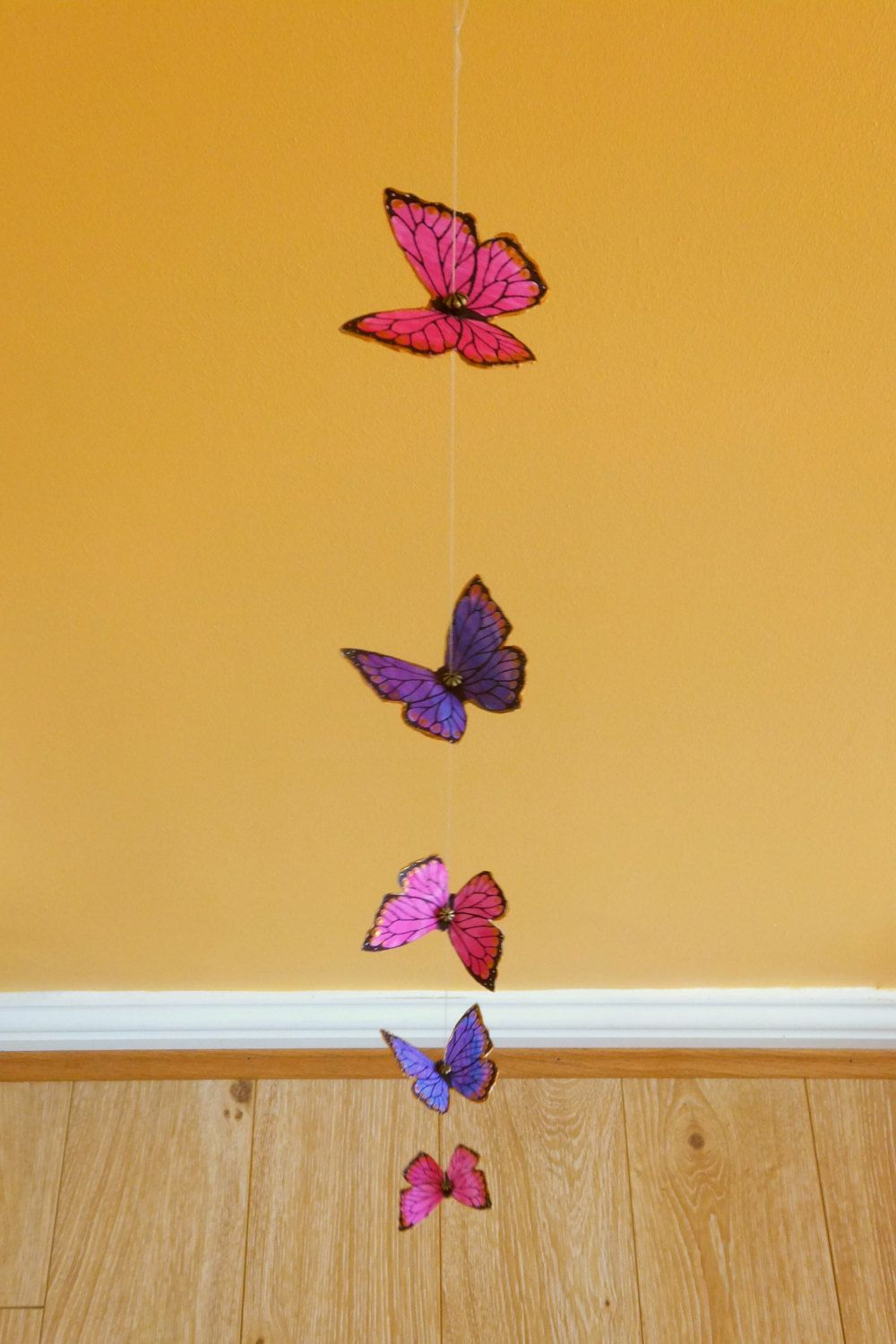 Handmade Butterfly Garland Decoration. Hanging garland / home decor ...
