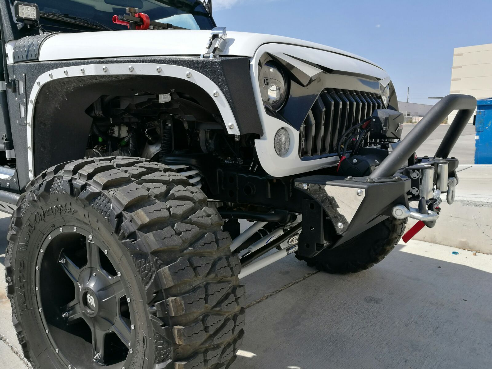 This Decked Out Jk Has It All Including The Gladiator Grille