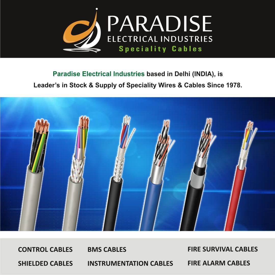 All Types Of Industrial Cables Brand Polycab Belden Finolex Own Brand Parashield Basic Electrical Wiring Shielded Cable Cables