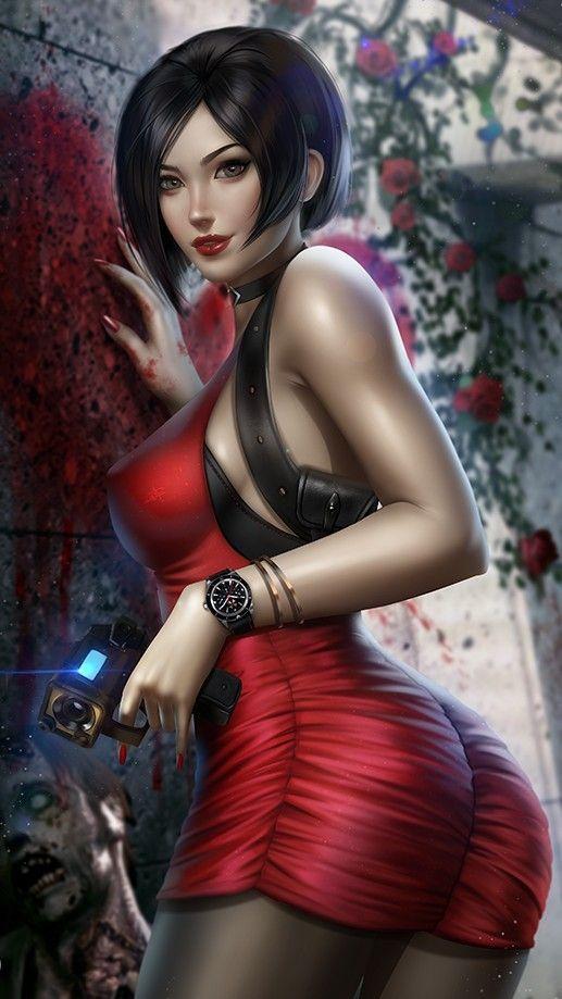Ada Wong by danuskocampos | Resident evil girl, Resident