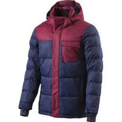 Photo of Firefly men's jacket H-jacket Alan Ii, size Xl in dark blue / dark red, size Xl in dark blue / dark