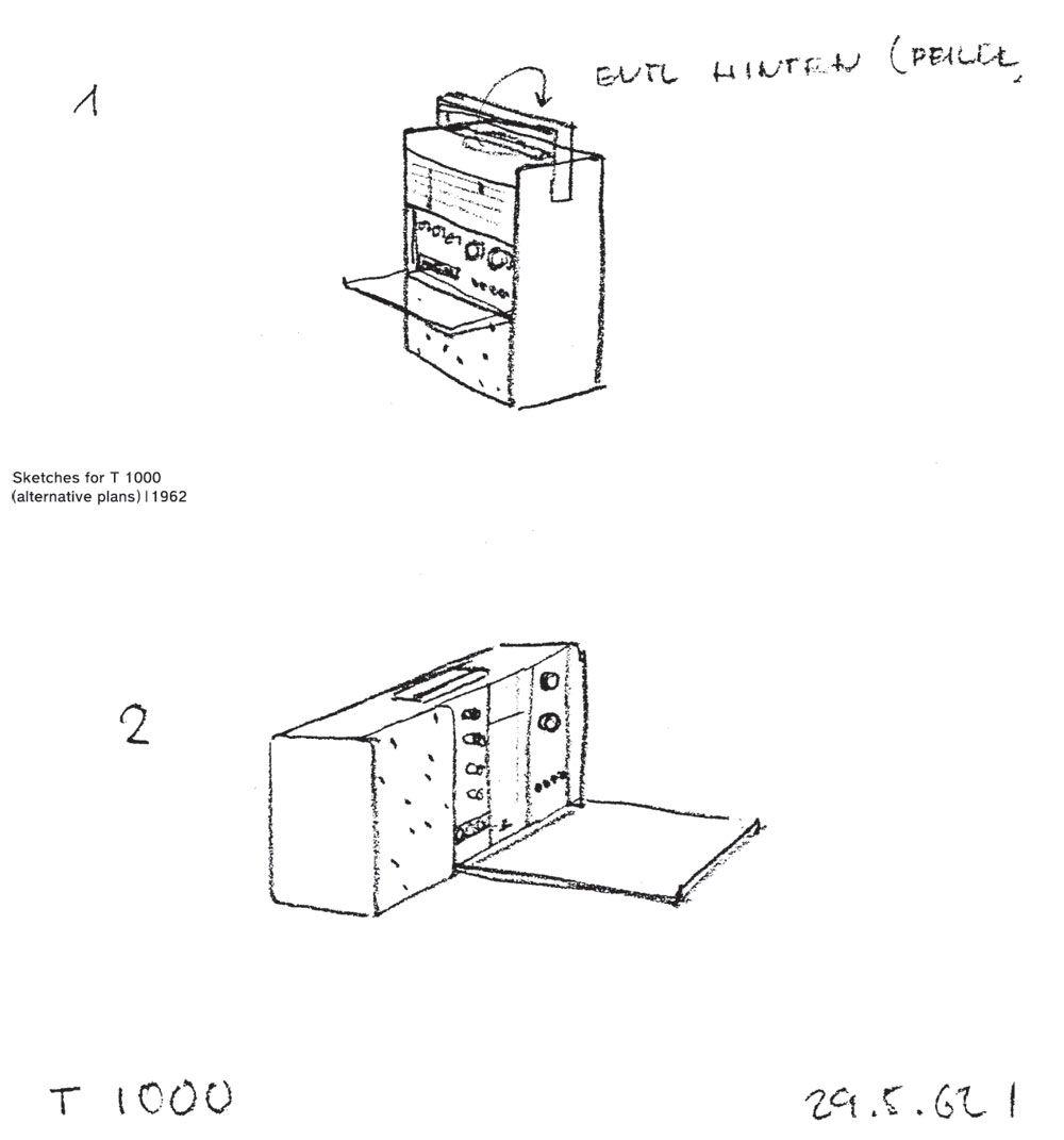 Dieter Rams Sketch Dieter Rams Design Dieter Rams Braun Design