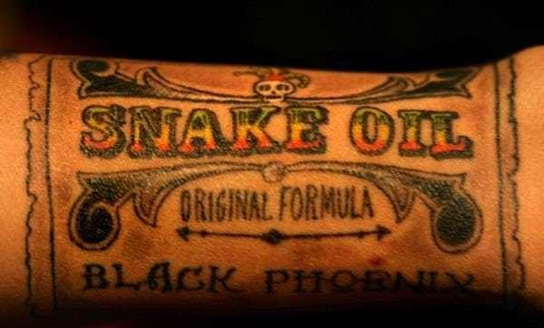 snake oil meaning