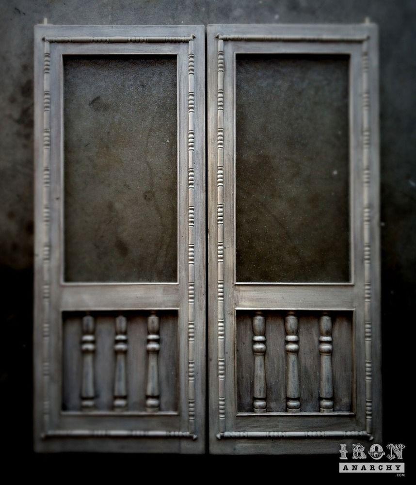 Handcrafted custom swinging saloon doors - One Of A Kind Set Of Elegant Swinging Doors Handcrafted In My