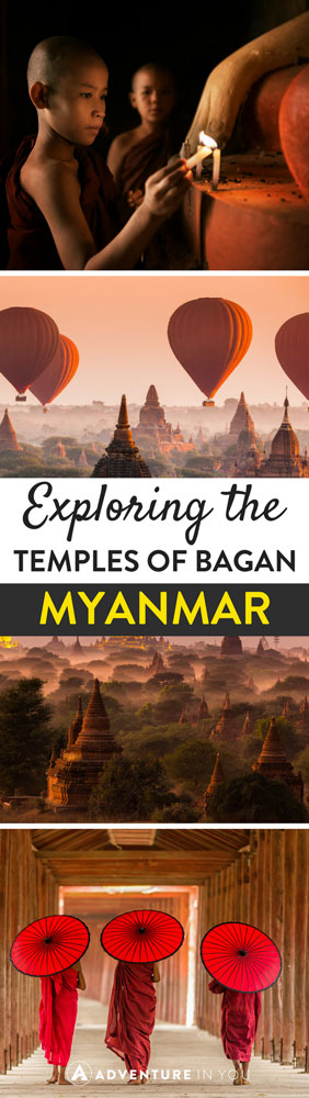 Bagan, Myanmar | Explore the best of Bagan Myanmar using this temple guide. Explore the best spots for sunrise and sunset as you marvel as this stunning work of architecture.