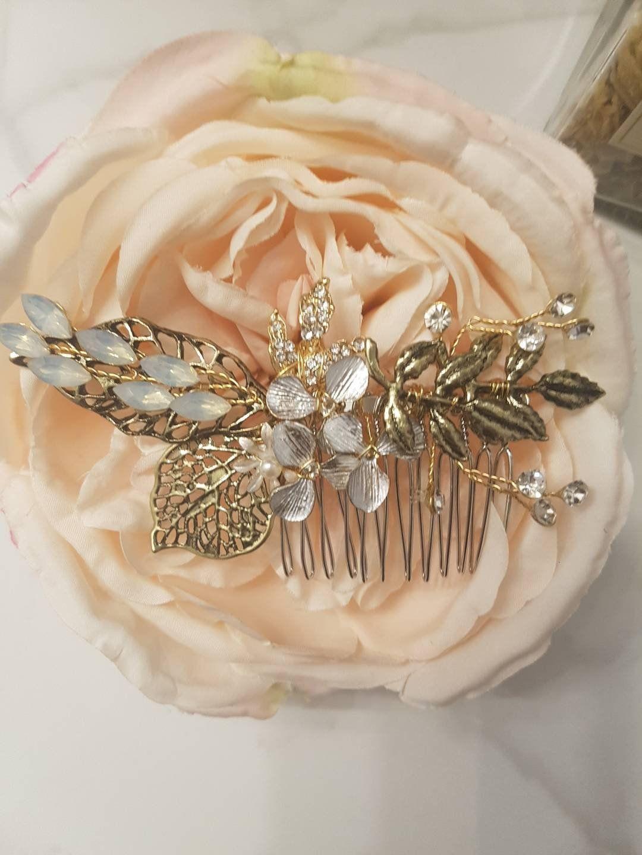 Pearl Bridal Hair Comb Bridal Hairpiece Bridal Headpiece Pearl