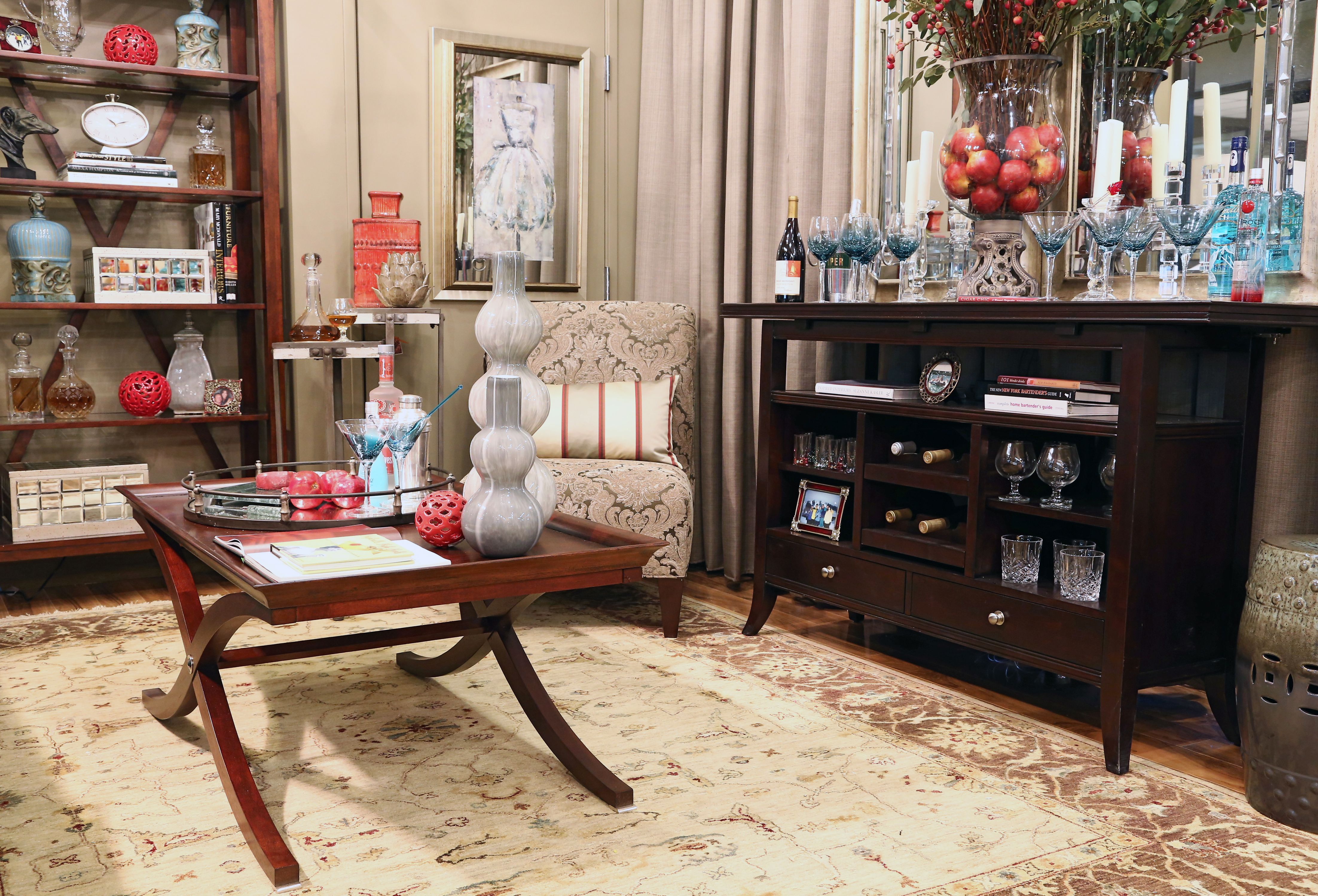"""""""Ladies Lounge"""" in Decoroom, Suite 37 by Donnah Milefchik of Donnah Miles Interiors"""