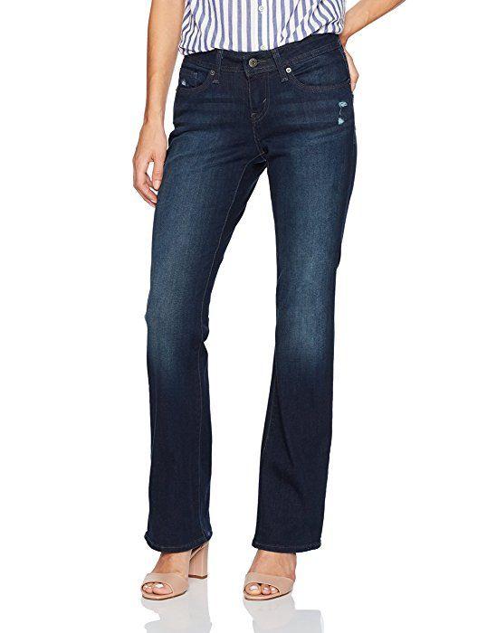 Levis petite curvy bootcut jeans 1